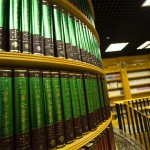 Large library at Hong Kong Parkview