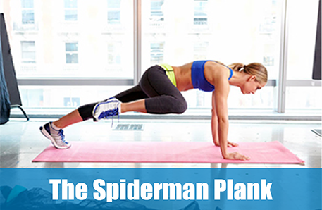 Image result for Plank Spiderman
