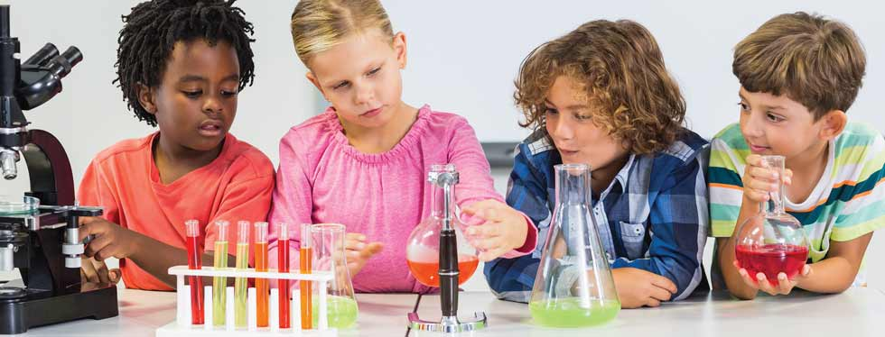 Curiosity Science Experiment Classes at Hong Kong Parkview