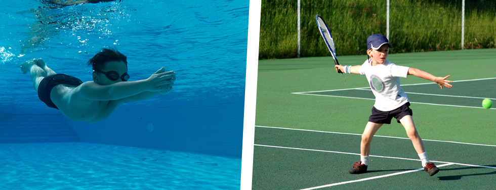 Swimming and Tennis Programme
